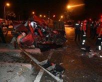 Adana'da korkunç kaza!