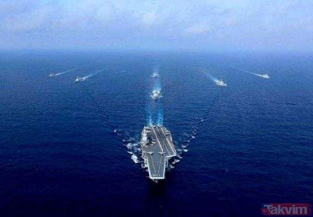 ABD ile Çin arasında gerilim tırmanıyor! İşte iki ülkenin savaş güçleri