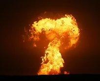 Hazar Denizi'nde geceyi aydınlatan patlamanın kaynağı