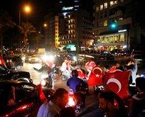 Lübnan'da 'EVET' kutlaması