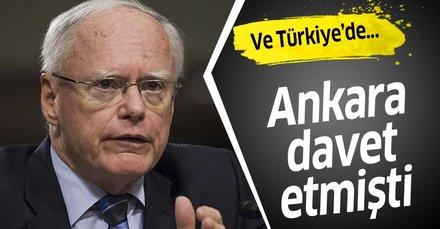 ABD'nin Suriye Özel Temsilcisi James Jeffrey Türkiye'de