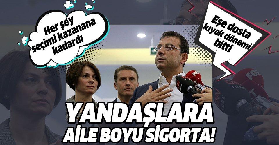 CHP'li Ekrem İmamoğlu'ndan yandaşlarına aile boyu kıyak!