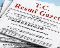 HSK kararları Resmi Gazete'de yayımlandı