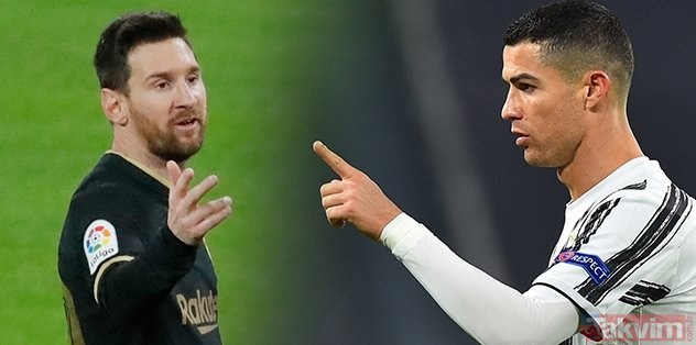 Barcelona's Argentine star Lionel Messi and Juventus's Portuguese star Ronaldo have raised the bar!  Exactly ...