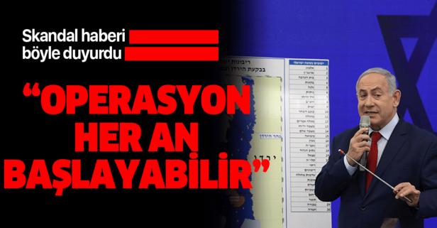 Netanyahu'dan skandal hamle