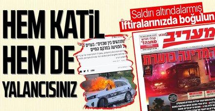 İsrail gazetelerinin yalan manşetleri
