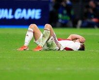 Ajax final biletini elinden kaçırdı