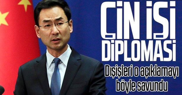 Çin işi diplomasi