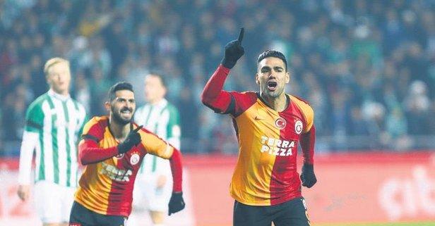 Galatasaray'da Falcao seferberliği