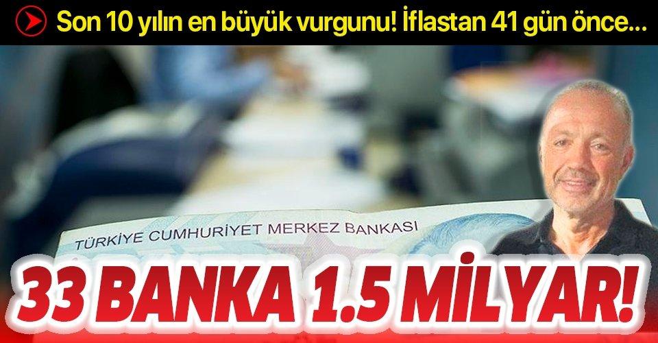 Son 10 yılın en büyük banka dolandırıcılığı: 1.5 milyarlık organize vurgun