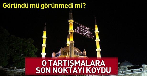 Türkiyenin ramazan takvimi doğrudur