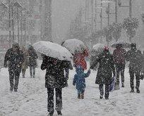 İstanbul ve Ankara'da kar alarmı