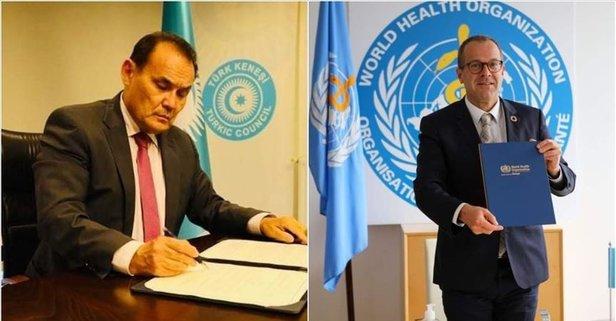 Türk Konseyi ile DSÖ arasında imzalar atıldu