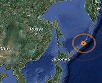 Japonyada korkutan deprem
