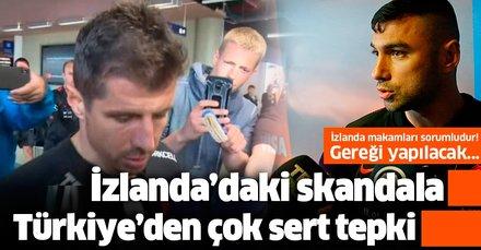 Son dakika: İzlanda'da Milli Takım'a pasaport işkencesi! Türkiye'den peş peşe çok sert tepkiler...