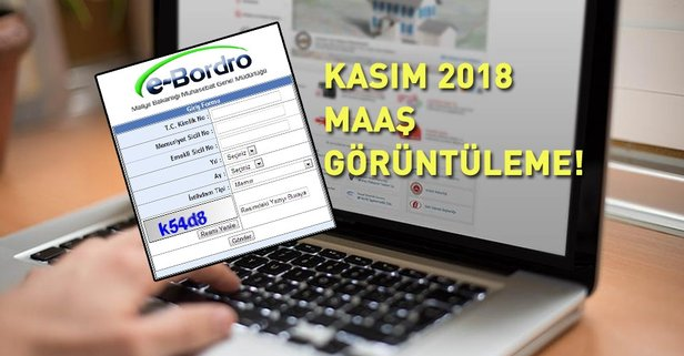 2018 Kasım ayı maaş bordroları yayınlandı!