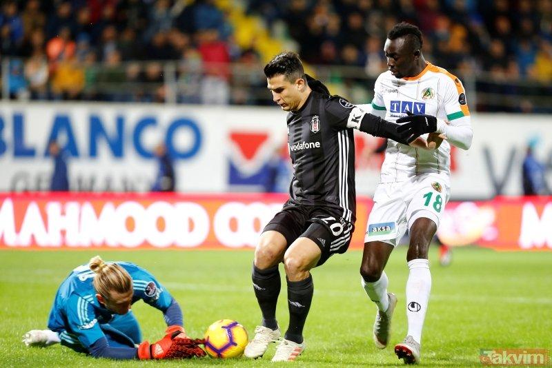 Alanya'da sessiz gece | Alanyaspor: 0 - Beşiktaş: 0 Maç sonucu