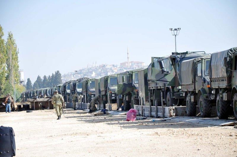 Çankırı'dan askeri sevkiyat sürüyor