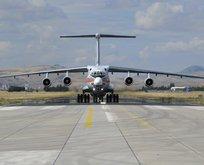 7. uçak Mürted'e iniş yaptı