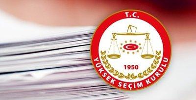 YSK, 24 Haziran seçimleri geçici milletvekili aday listesini açıkladı