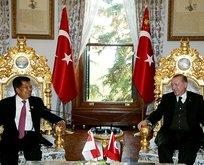 Cumhurbaşkanı Erdoğan Kallayı kabul etti