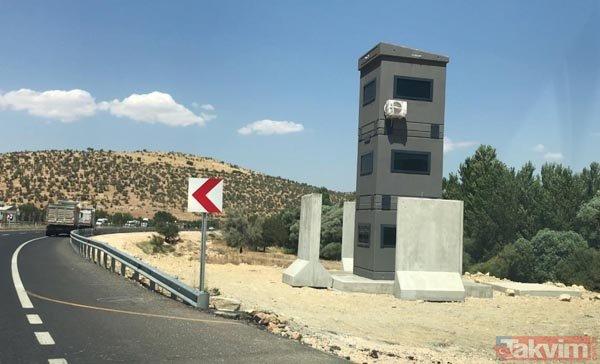 Diyarbakır-Mardin karayolunda zırhlı güvenlik kuleleri ilk kez görüntülendi!