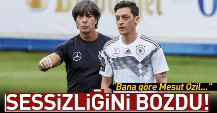 Löwden Mesut Özil açıklaması!