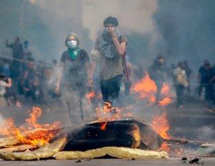 Şili son yılların en zorlu döneminden geçiyor!  Pinochet'ten sonra ilk defa ordu sokakta