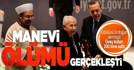 Başkan Recep Tayyip Erdoğan'ın elinden ödül almıştı! Üvey kızları Prof. Dr. Semavi Eyice'nin tabloları ve eşyalarını 200 bin liraya sattı