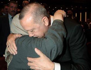 Birinci Yaşlılık Şurası'nda Başkan Erdoğan onları, onlar Erdoğan'ı bağrına bastı