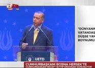 Erdoğan, Avrupalı Türk Demokratlar Birliği'nin 6. Olağan Genel Kurulu'nda konuştu
