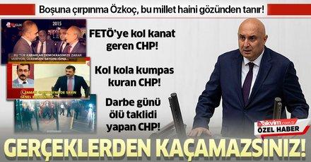İşte CHP'li Engin Özkoç'un provokasyonuna karşı 15 Temmuz gerçekleri!