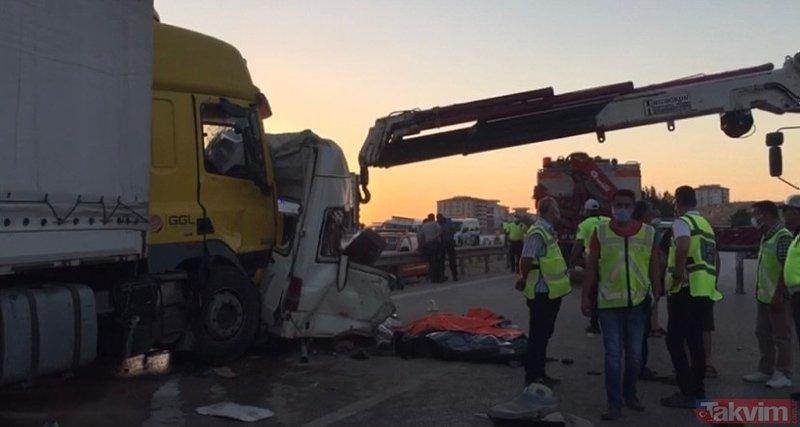 Gaziantep'te can pazarı! TIR tarım işçilerini taşıyan minibüse çarptı: 3 ölü 16 yaralı