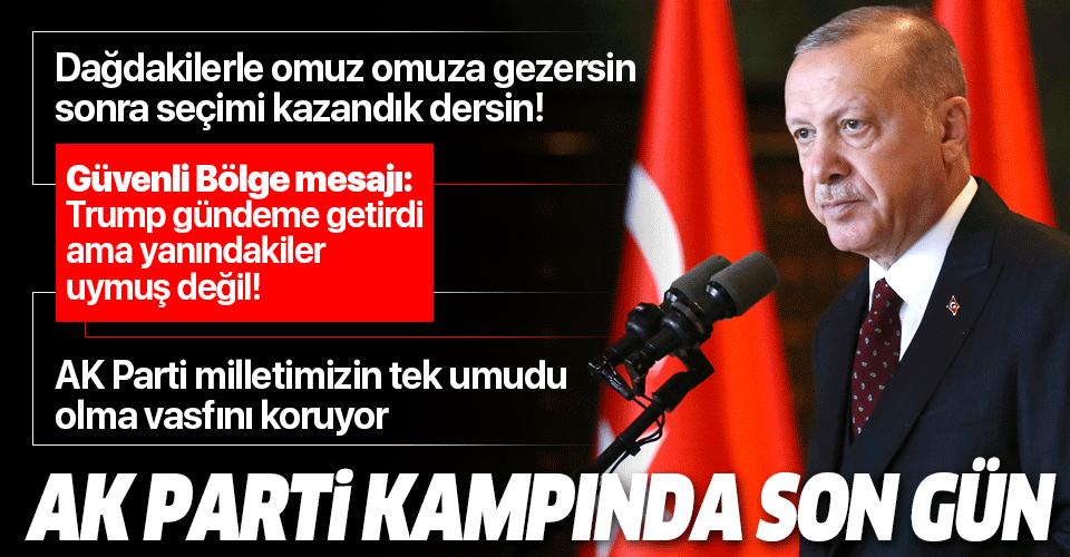 Başkan Erdoğan'dan AK Parti'nin Kızılcahamam kampında önemli açıklamalar