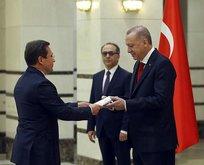 Başkan Erdoğan büyükelçileri kabul etti
