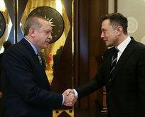 Başkan Erdoğan, Musk ile görüştü