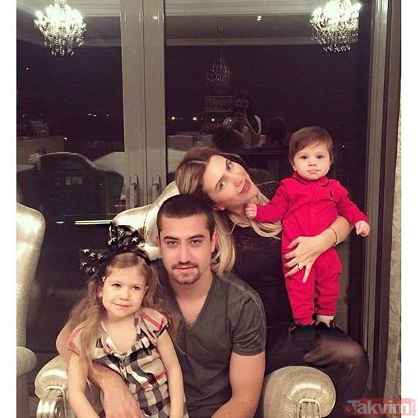 Milan'ın yıldızı Hakan Çalhanoğlu ile eşi Sinem Gündoğdu'nun kızları Liya'dan ilk poz!