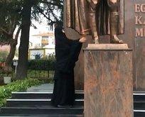 Atatürk Anıtına saldıran kadın bipolar çıktı