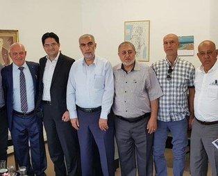 Filistinli önderlerden Erdoğan'a tebrik