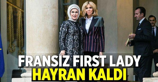 Fransız First Lady'e davet