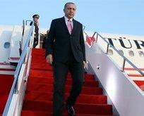 Başkan Erdoğan Ankara'ya gitti
