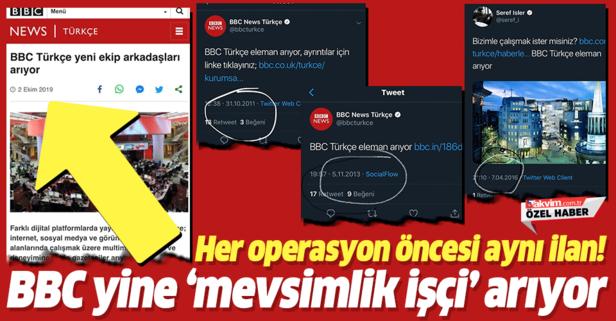 BBC Türkçe yine mevsimlik işçi arıyor