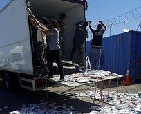 Van'da, 13 bin 800 paket kaçak sigara ele geçirildi