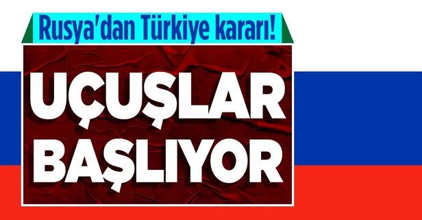 Rusya'dan Türkiye kararı! Başlıyor