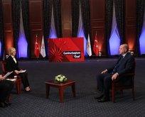 Başkan Erdoğan'dan canlı yayında çok kritik açıklamalar