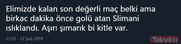 Islam Slimani gol attı sosyal medya çıldırdı! Slimani gol orucunu bozdu...