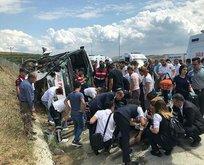 İstanbul'da feci kaza: 34 kişi yaralandı!