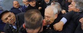 CHP lideri Kılıçdaroğlu'na saldıran şahıs yakalandı