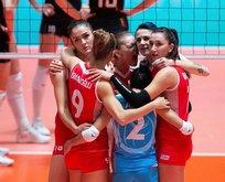A Milli Kadın Voleybol Takımı finalde!