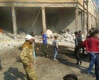 YPG'den Tel Abyad'a bomba yüklü araçla saldırı!